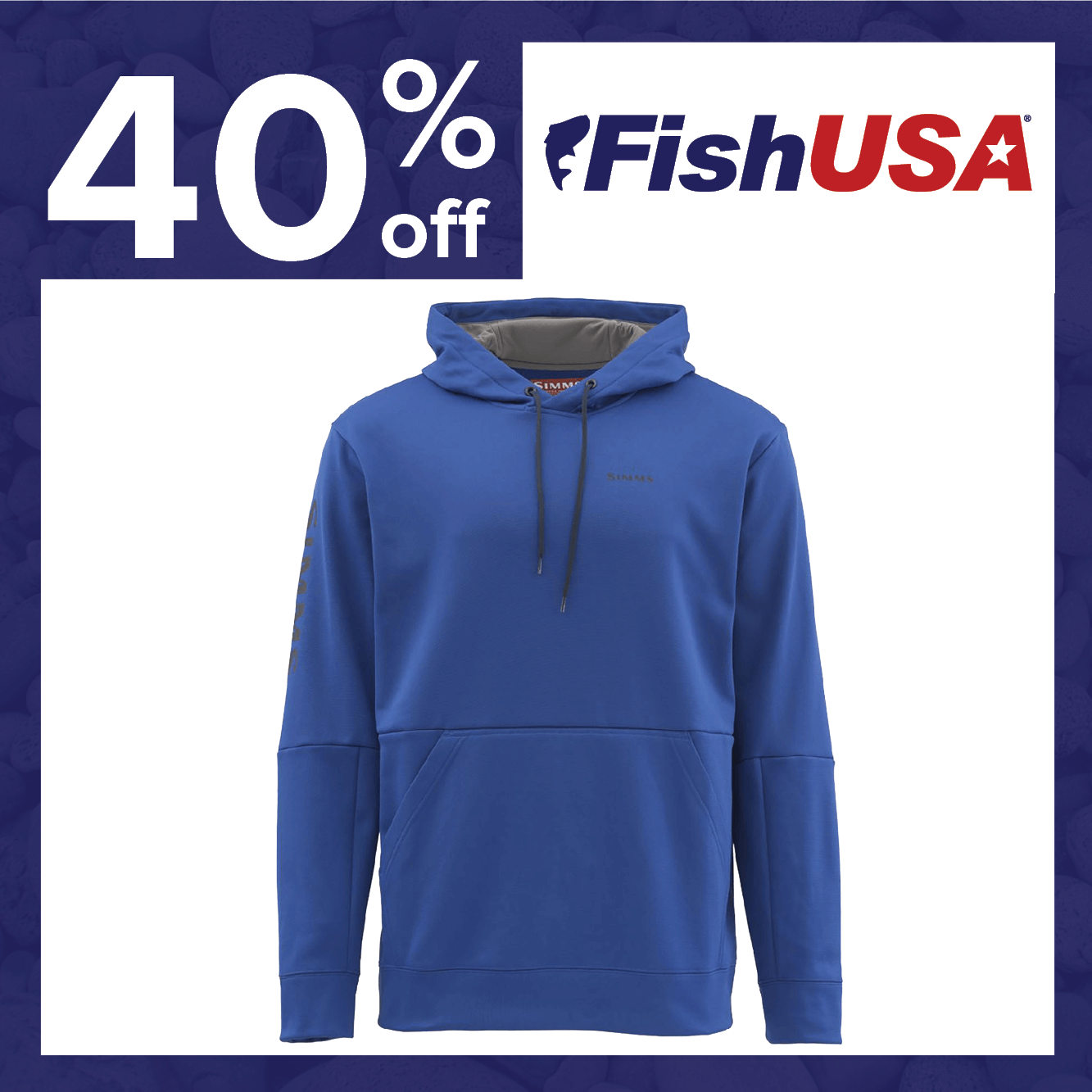 40% off the Simms Challenger Hoodie