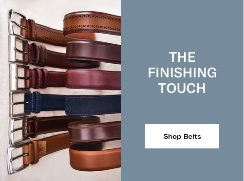 The Finishing Touch - Shop Belts