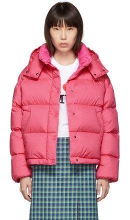 Moncler - Pink Down Onis Jacket
