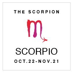 SHOP YOUR SCORPIO HOROSCOPE