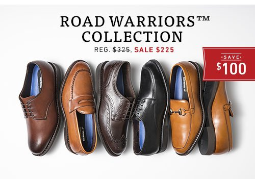 Save $100 on Road Warriors