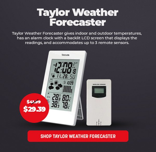 Taylor Weather Forecaster
