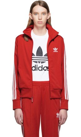 adidas Originals - Red Firebird Track Jacket