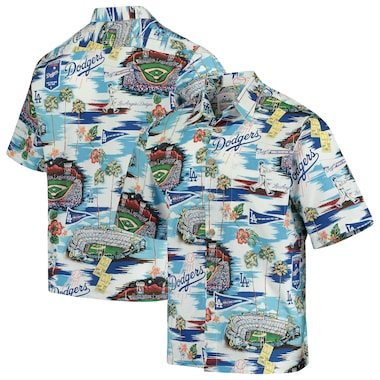 Los Angeles Dodgers Reyn Spooner Scenic Button-Up Shirt - Royal