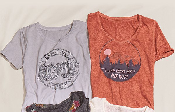 maurices graphic tees