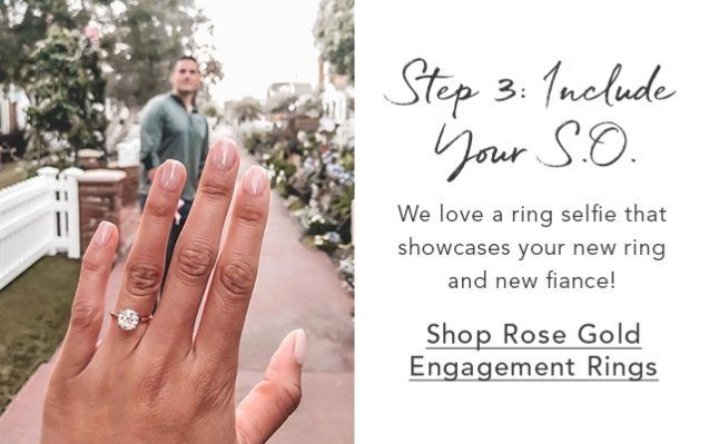 Shop Rose Gold Engagement Rings