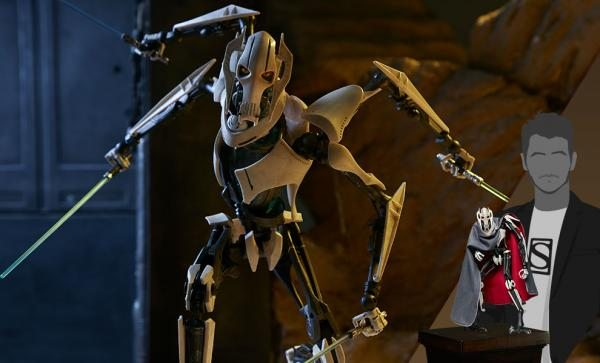 General Grievous Sixth Scale Figure by Sideshow