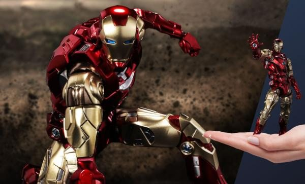 Iron Man Action Figure – Sentinel Fighting Armor by Sentinel