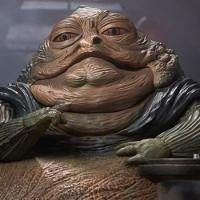 Jabba the Hutt and Throne Deluxe Sixth Scale Figure