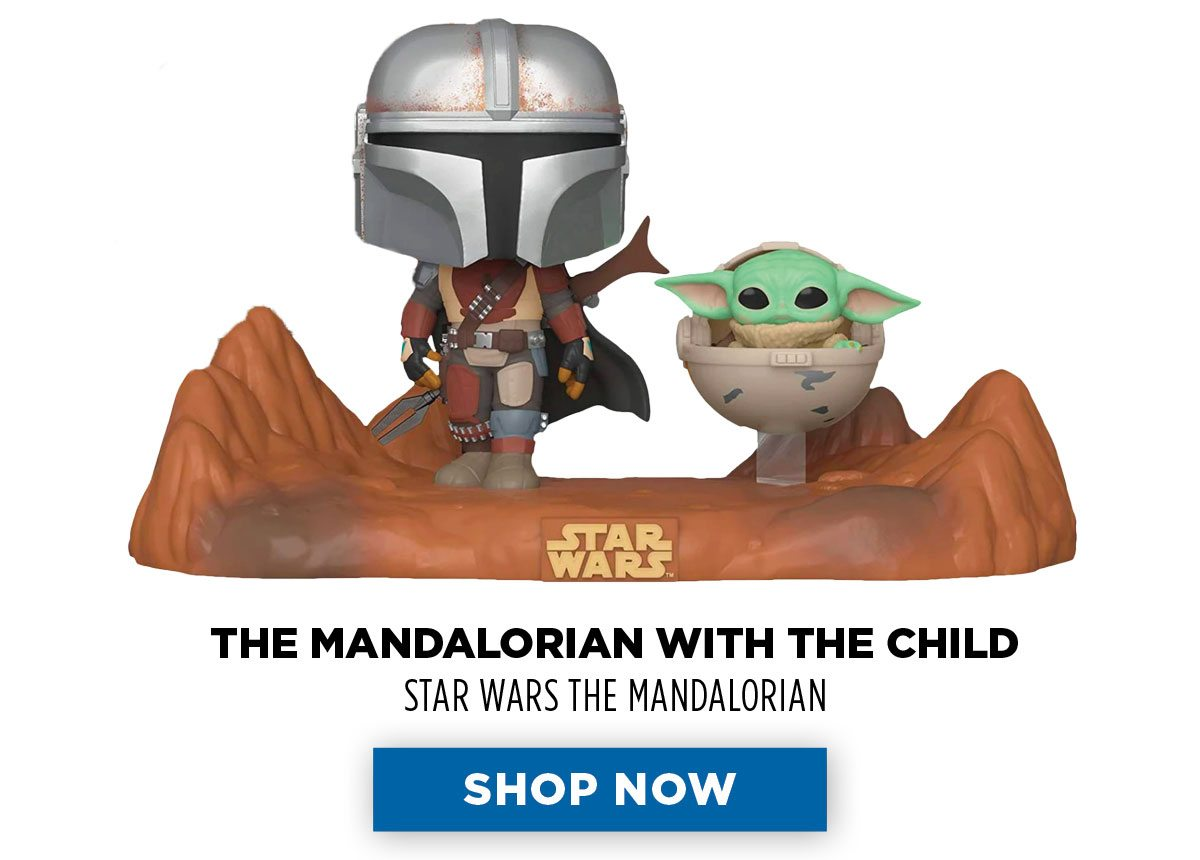 Funko Pop! - The Mandalorian with The Child