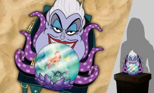 Villains Scene Ursula Crystal Ball Mini Backpack Apparel by Loungefly