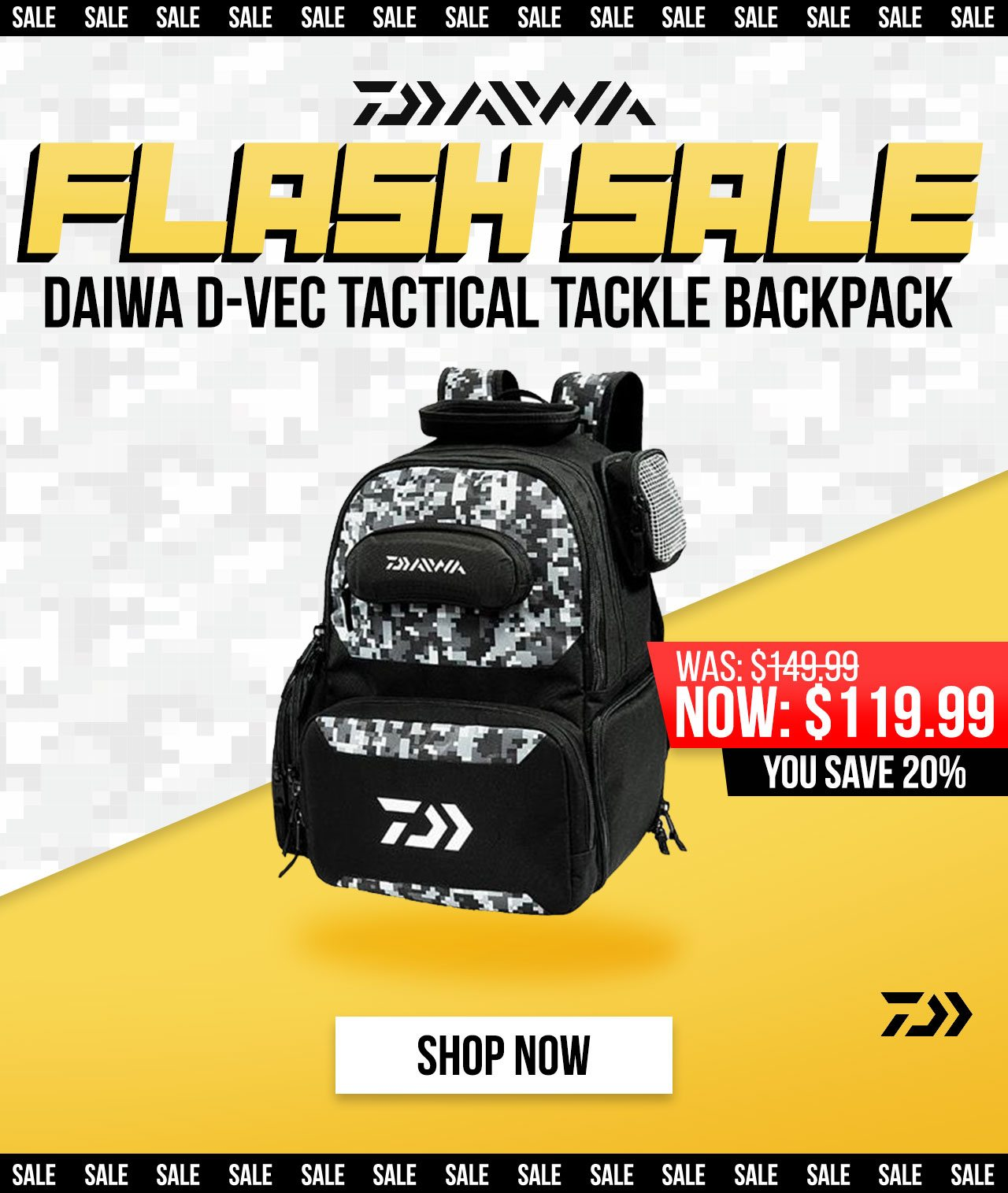 b4f7a79f3d4 Secure the Bag 🔥 20% OFF Daiwa D-Vec Tactical Backpack ...