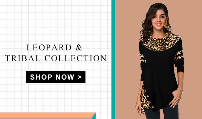 Leopard & Tribal Collection