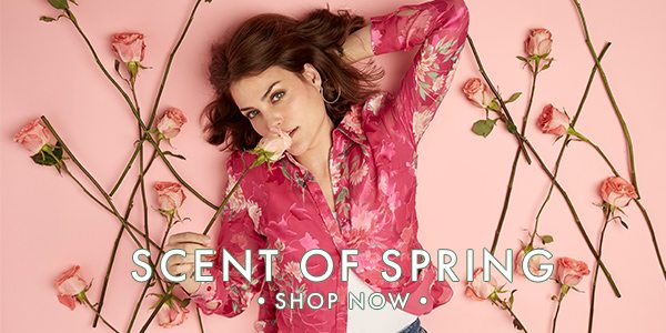Scent Of Spring - Transition into Spring with these mood-boosting pieces like our Burnout Floral Shirt