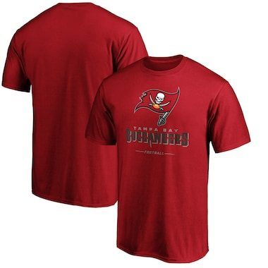 Tampa Bay Buccaneers NFL Pro Line by Fanatics Branded Team Lockup T-Shirt - Red