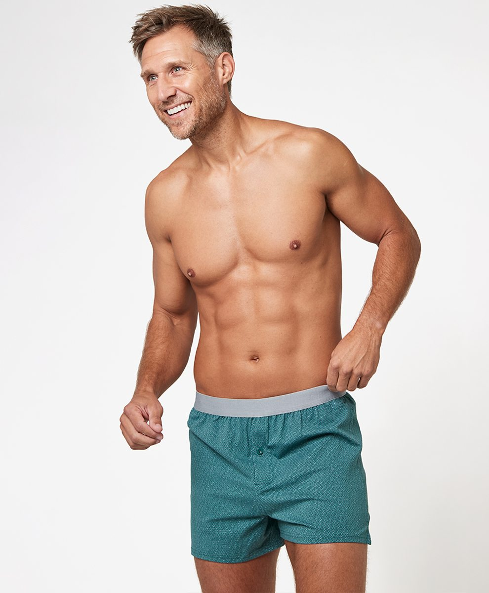 Men's Mallard Diamond Knit Boxers