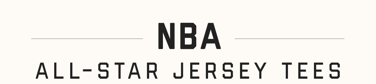 NEW NBA All-Star Jersey Tees