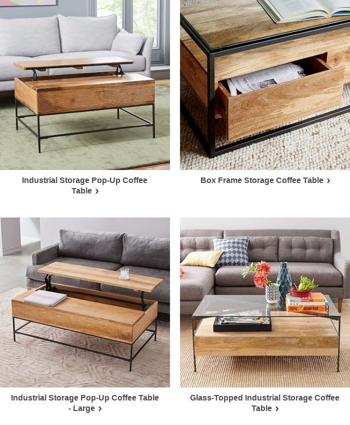 It S Ok To Look Twice At This Box Frame Storage Coffee Table