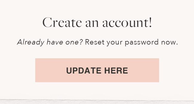 Update your Account
