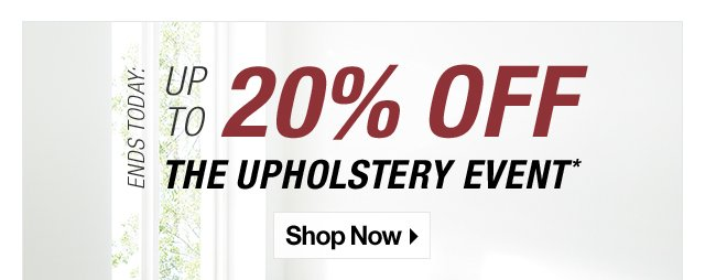 Ends Today The Biggest Upholstery Sale Of The Year Crate And
