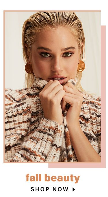 Everything We Love About Layering Season: Fall Beauty - Shop Now