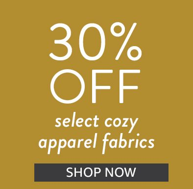 Save 30% on cozy favorites | Shop Now