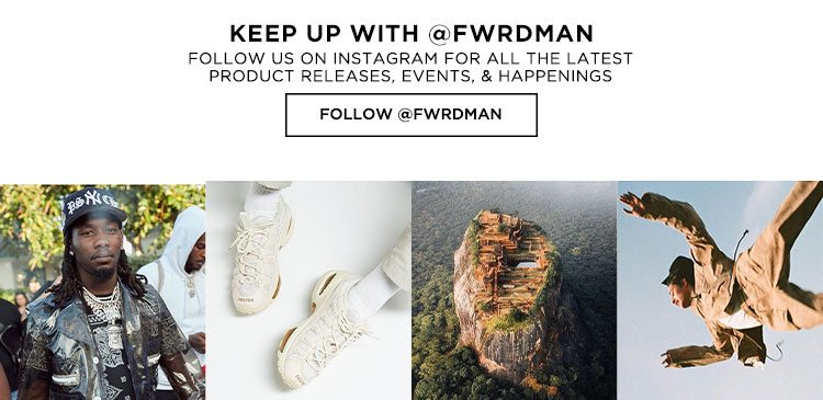 Keep Up With @FWRDMAN