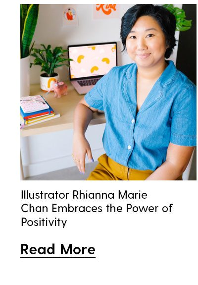 Illustrator Rhianna Marie Chan Embraces the Power of Positivity