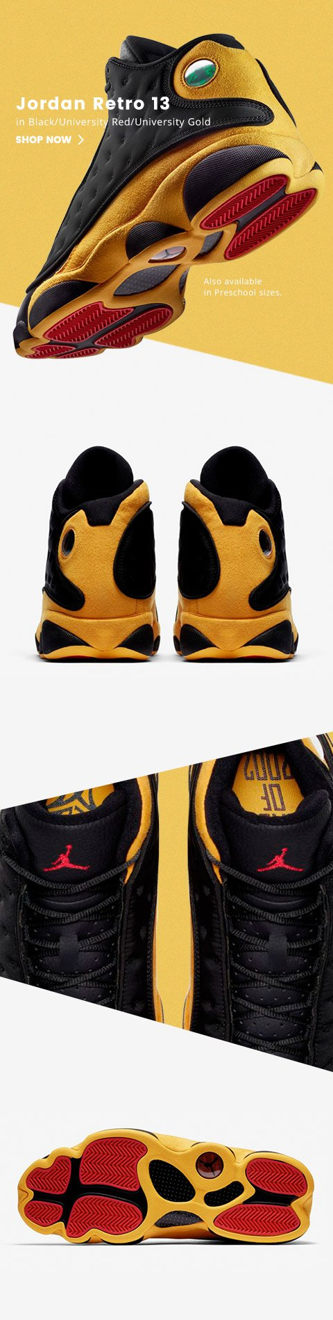 various colors 828e4 48858 Retro 13: Melo made the grade. - Kids Foot Locker Email Archive