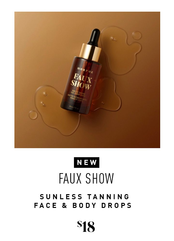 NEW Faux Show Sunless Tanning Face & Body Drops $18