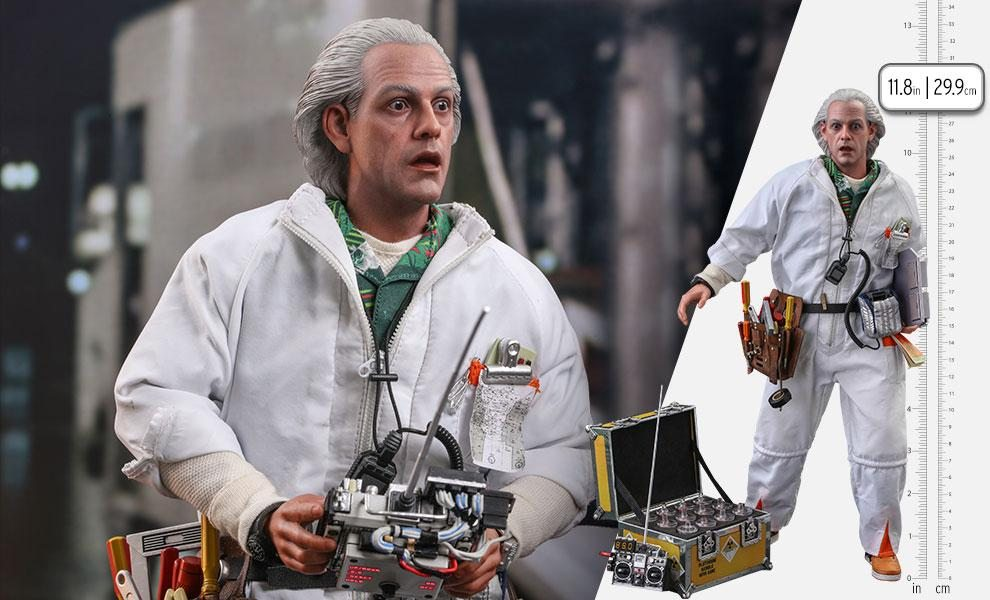 Doc Brown (Deluxe Version) Sixth Scale Figure by Hot Toys