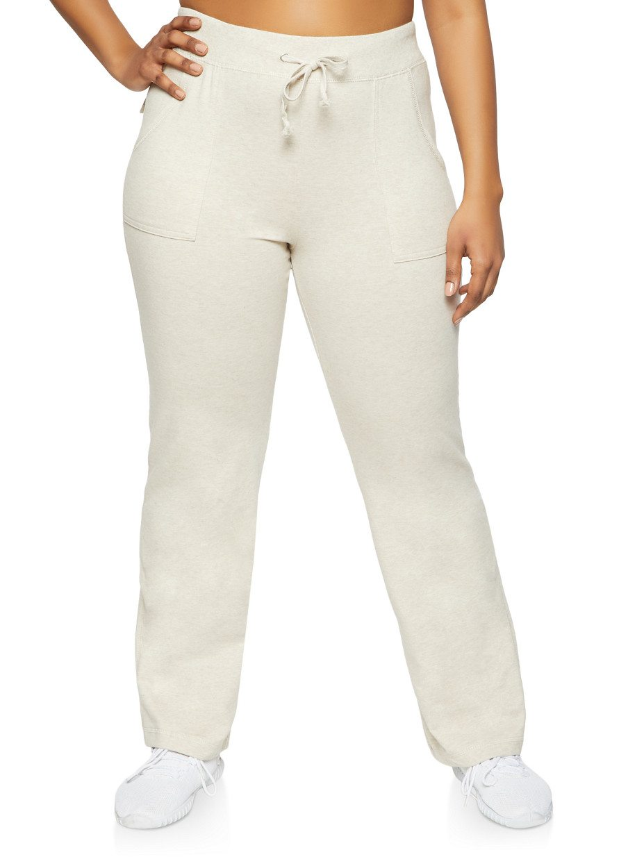 Plus Size French Terry Sweatpants