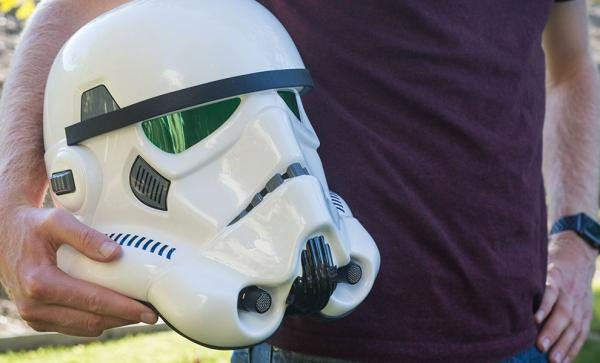 Serve the Empire with this Full Scale Replica Stormtrooper Helmet Prop Replica by EFX