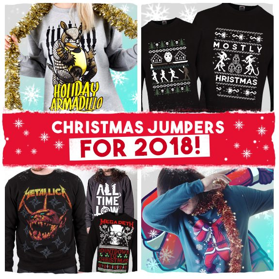 Brand New Christmas Jumpers For 2018