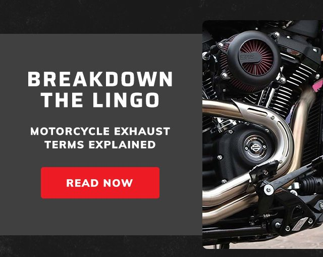Motorcycle exhaust terms explained