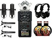 Zoom H6 Portable Digital Recorder + Podcast Kit