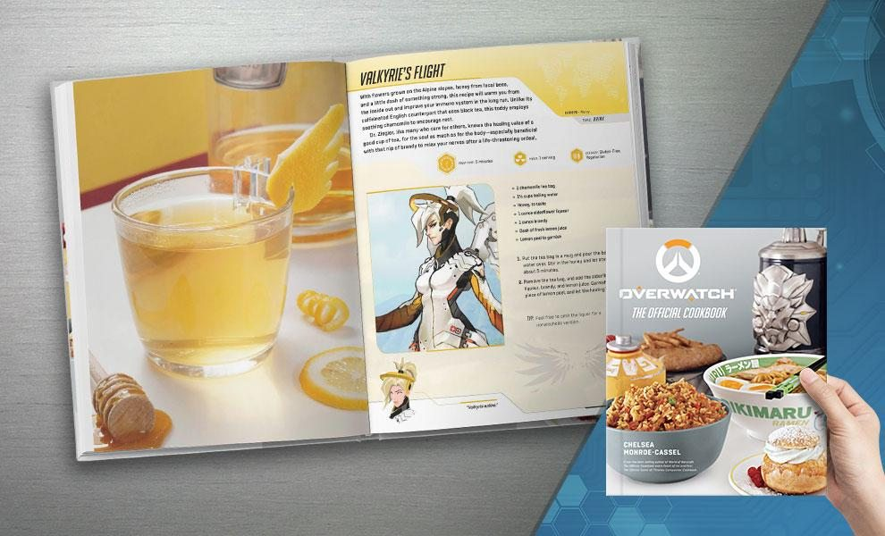 Overwatch The Official Cookbook (Insight Editions)