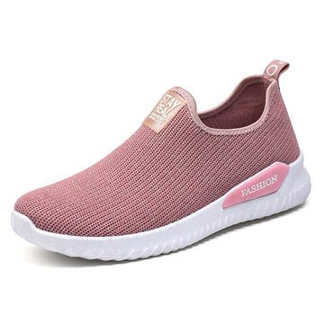 Breathable Mesh Flat Shoes