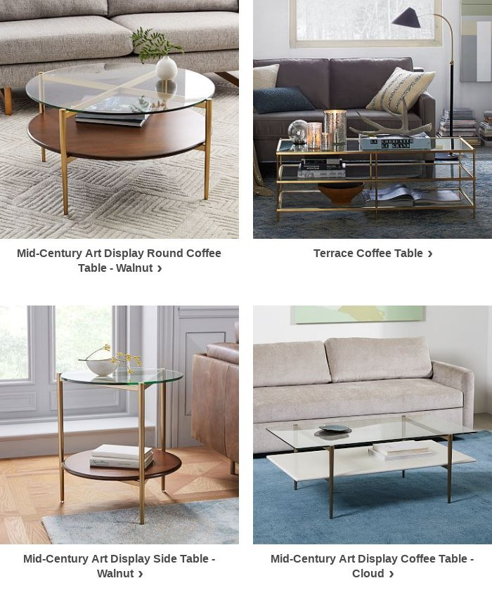 It S Ok To Look Twice At The Mid Century Art Display Coffee Table