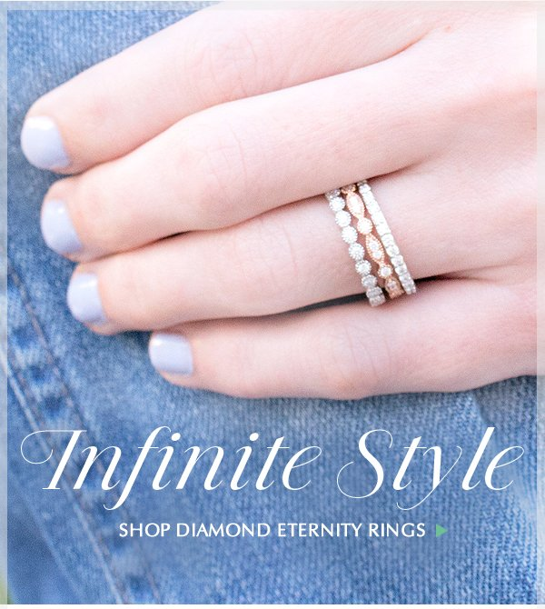 Infinite Style With Eternity Diamond Rings Brilliant Earth Email