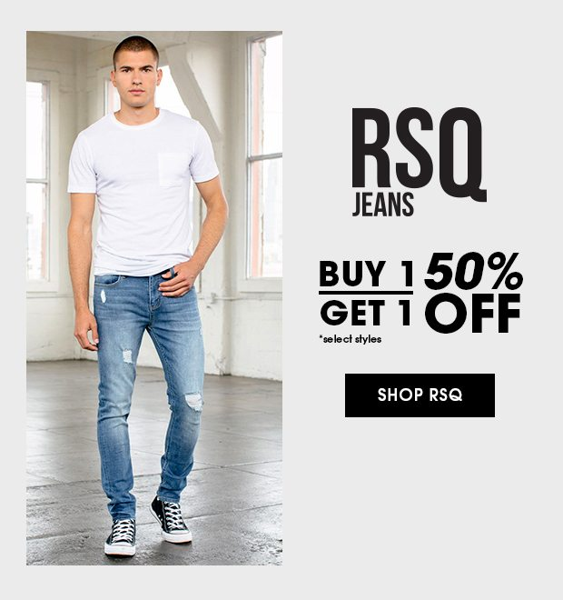 Shop Men's RSQ Jeans Buy One Get One 50% Off