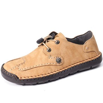 Leather Non Slip Casual Shoes