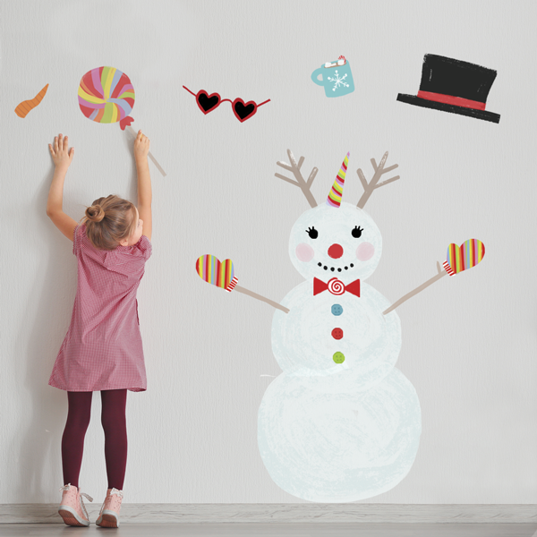 Image of HOLIDAY DECALS