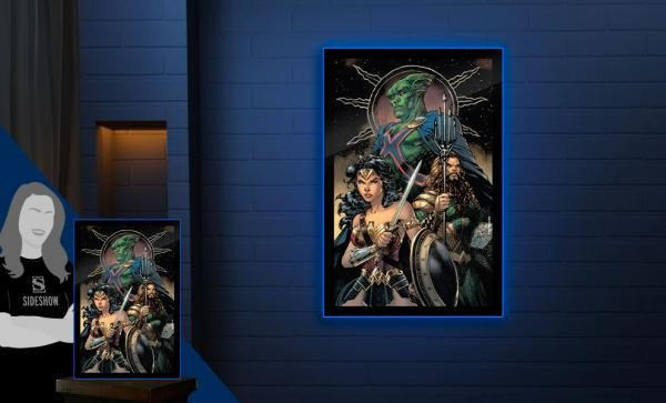 Zack Snyder's Justice League #59 LED Poster Sign by Brandlite