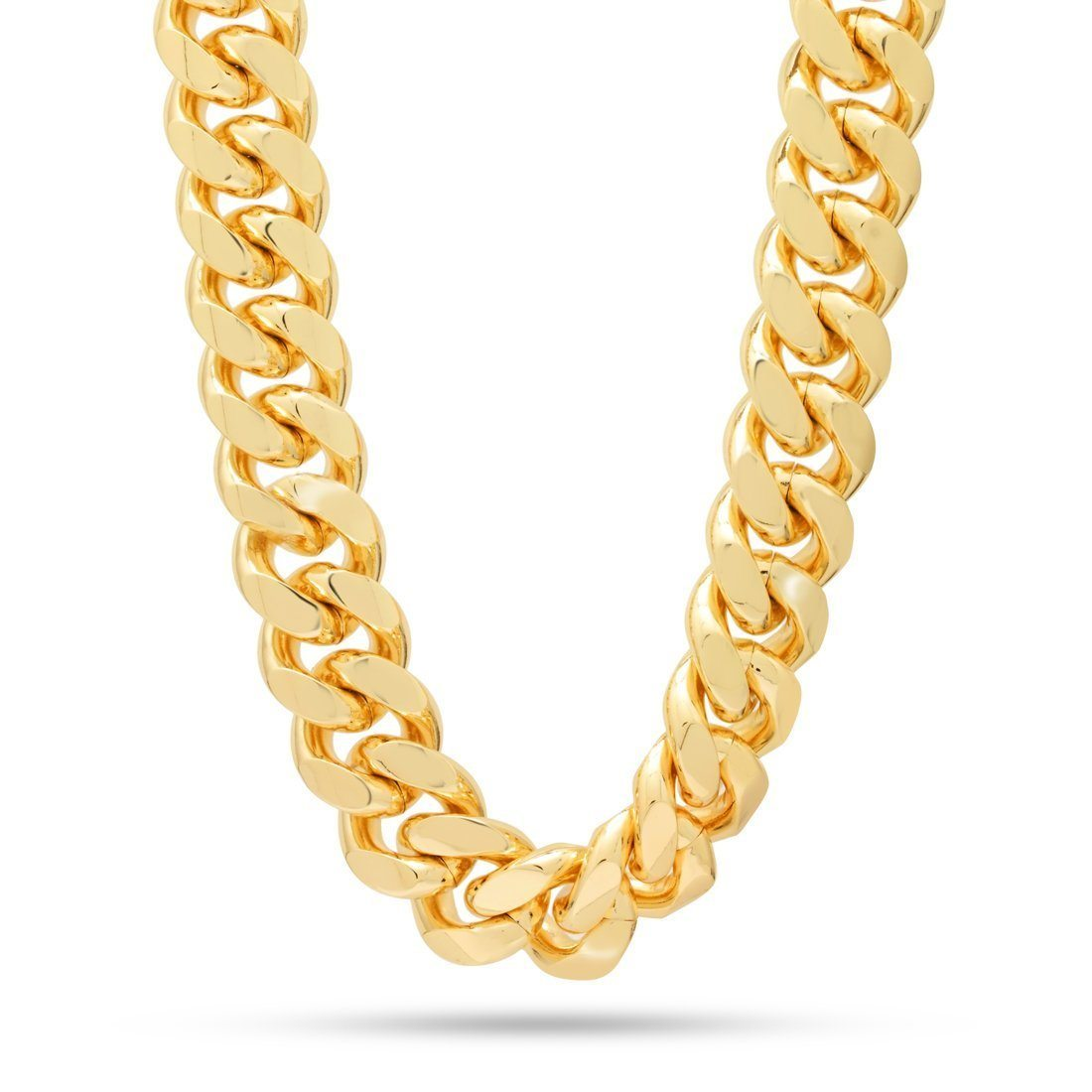 Image of 18mm Stainless Steel Miami Cuban Curb Chain