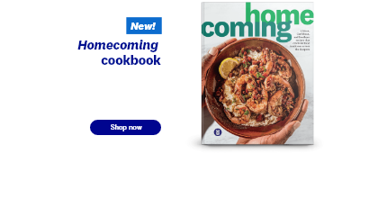Homecoming cookbook