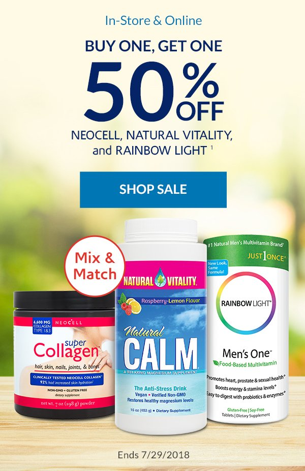 Save huge on 3 of your future faves - the Vitamin Shoppe Email Archive