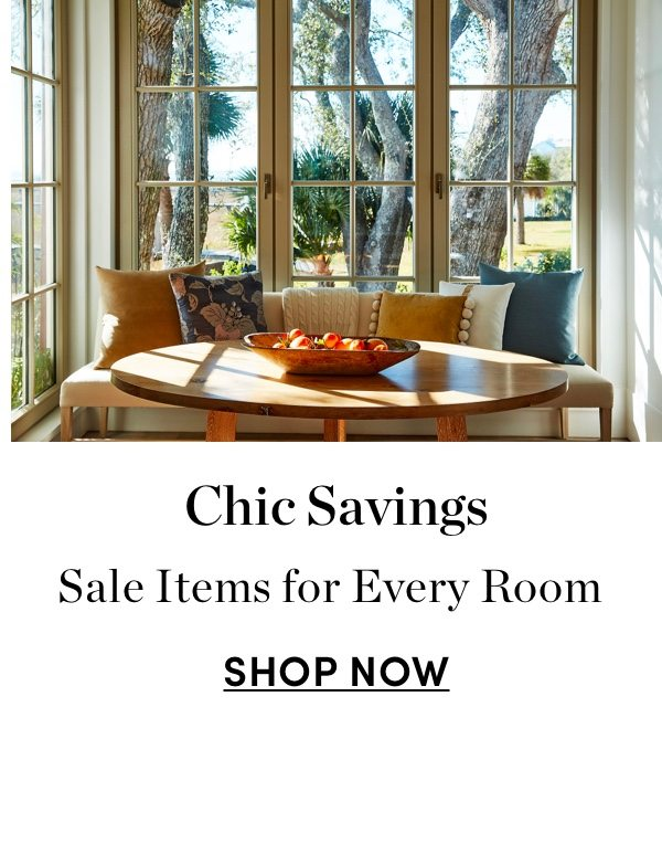 Sale Items for Every Room