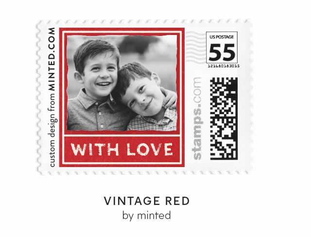 Vintage Red by Minted
