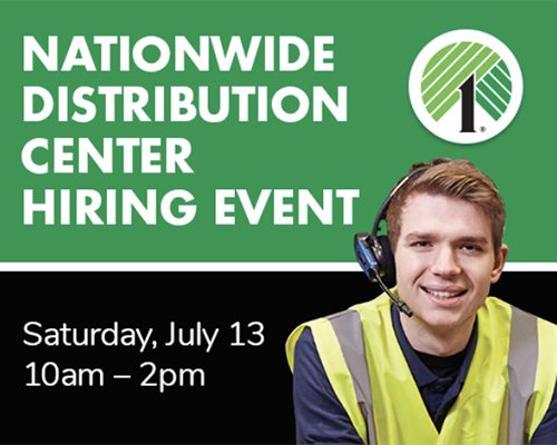 Nationwide Distribution Center Hiring Event